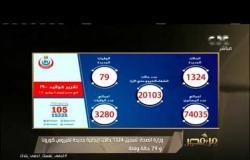 وزارة الصحة: 1324 إصابة جديدة بكورونا و79 وفاة.. شاهد تعليق عمرو خليل | #من_مصر