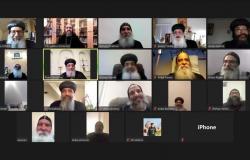 البابا تواضروس يلتقي أساقفة أوروبا بالفيديو كونفرنس