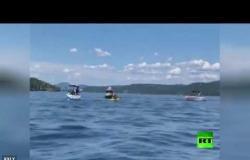 مصرع 8 أشخاص باصطدام طائرتين فوق بحيرة في ولاية أيداهو