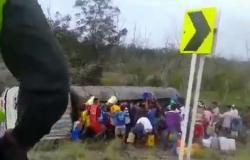 فيديو مأساوي.. لحظة انفجار شاحنة وقود في سكان قرية كولومبية