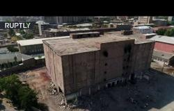 تفجير مصنع في أرمينيا