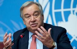 """""""غوتيريش"""" يشدد على عدم السماح لـ """"كورونا"""" بعكس مسار التقدم في خطة التنمية المستدامة 2030"""