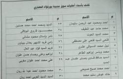 ننشر أسماء المستحقين لمحلات في سوق بورفؤاد الجديدة ببورسعيد