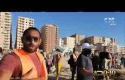 رغم غرق 11 شخصا   مواطنون يحاولون نزول شاطئ النخيل بالإسكندرية| #من_مصر