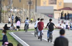 إقبال كبير على رياضة الدراجات الهوائية بصيف عسير.. متعة وسط غابات العرعر