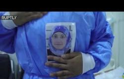 """ممرضة عراقية تقود """"المعركة"""" ضد فيروس كورونا في الموصل"""