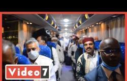 القبائل الليبية  من قلب القاهرة :تحيا مصر وتحيا ليبيا