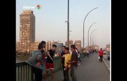 زحام على كوبري عباس في عيد الأضحى