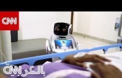 مستشفى كبير في الهند يستخدم الروبوتات لمحاربة فيروس كورونا