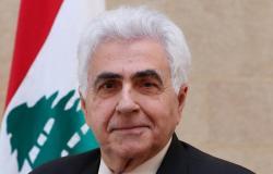 """هل استبعاده من اجتماع """"لودريان"""" كان السبب؟.. وزير الخارجية اللبناني يستقبل"""