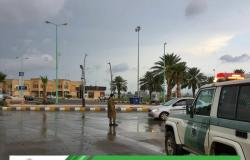 """""""مرور جازان"""" يدعو لتوخي الحيطة والحذر لغزارة الأمطار بالمنطقة"""