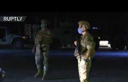 نشر قوات الأمن والجيش عقب انفجار مرفأ بيروت