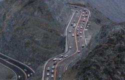إعادة فتح طريق جبل الكر بالهدا بعد إغلاقه بسبب الأمطار