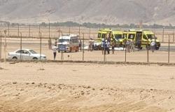مصر.. سقوط طائرة خاصة في مطار الجونة