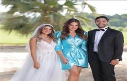 درة تخطف الأنظار بإطلالة ساحرة في حفل زفاف هند عبدالحليم