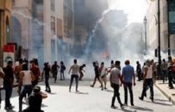 احتجاجات انفجار بيروت: إصابة 110 متظاهرين من جراء إطلاق الشرطة الغاز