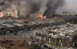 حصيلة قتلى انفجار بيروت ترتفع إلى 158