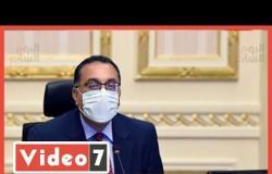 الدكتور مصطفى مدبولي رئيس الوزراء يدلي بصوته فى انتخابات مجلس الشيوخ