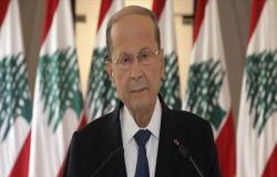 الرئاسة اللبنانية: واشنطن تؤكد وقوفها بجانب شعبنا في محنته