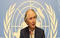 بيدرسون: لا اتفاق على أجندة لجنة الدستور السورية