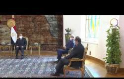 مساء dmc - الرئيس السيسي يلتقى عقيلة صالح والمشير حفتر بقصر الاتحادية