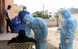549 إصابة جديدة بالفيروس في الأردن منها 544 محلية