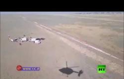 سقوط طائرة تدريب شمال غرب طهران