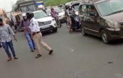 بالفيديو.. كيف أوقف ثعبان طريق الشرق السريع بالهند