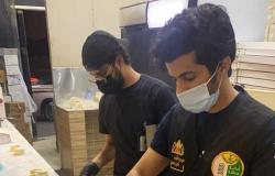 """""""أمانة عسير"""" تصادر قرابة 3500 كجم من المواد الغذائية الفاسدة مع باعة جائلين"""