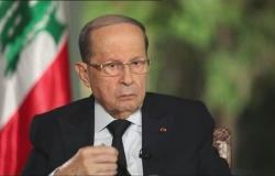 """الرئيس اللبناني يقبل اعتذار """"أديب"""" عن منصبه ويشكره"""