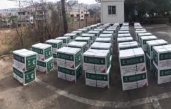 """لبنان.. """"سلمان للإغاثة"""" يوزّع 35 طناً من السلال الغذائية للأسر الأكثر احتياجاً"""