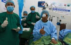 """""""الندوة العالمية"""" تُسَيّر قافلة طبية لجراحة العيون بتعز وحضرموت"""