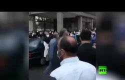 احتجاج للعاملين في مشفى إيراني
