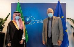 وزير الخارجية يجري سلسلة محادثات مع كبار مسؤولي الاتحاد الأوروبي