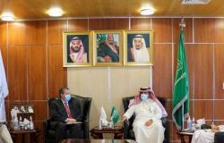 """""""آل جابر"""" يبحث مع سفير النرويج التقدم المحرز في تنفيذ اتفاق الرياض"""