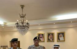 """سفير خادم الحرمين بالخرطوم يقلّد """"البقمي"""" رتبة عميد"""