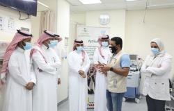 مجمع الملك عبدالله الطبي يستضيف حملة جامعة جدة الوطنية للتبرع بالدم