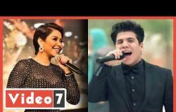"""عمر كمال يطلب الغناء مع شيرين ويغنى """"الكدابين"""" لإقناعها"""