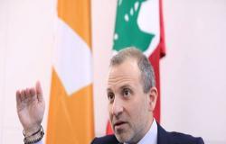 باسيل: لا نريد التقسيم ونعتبره قضاء على لبنان