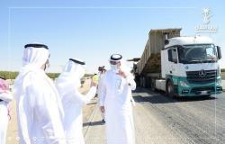 """""""النقل"""" تنجز 260 كلم من أعمال الطرق وتركب 985 لوحة خلال سبتمبر"""