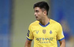 """النصر: غياب """"مارتينيز """" لمدة 3 أسابيع.. بداعي الإصابة"""