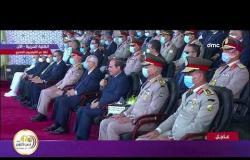 تغطية خاصة - الرئيس السيسي: يجب بناء وعي حقيقي لكل مجند مستجد