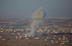 عدوان إسرائيلي على مواقع في سورية