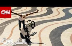 مصور وبطل العالم في سباق الدراجات.. كان يحلم أن يصبح لاعب كرة قدم محترف