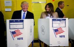 """""""ترامب"""" يدلي بصوته الانتخابي.. ويعقد مؤتمرات في 3 ولايات متأرجحة"""