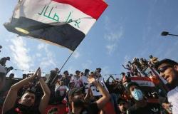 في ذكرى الانتفاضة الشعبية.. آلاف العراقيين يحتجون ضد الفساد بساحة التحرير