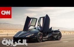 شاهد هذه السيارة الخارقة وهي تكسر الرقم القياسي العالمي للسرعة