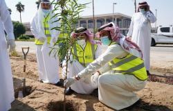 """مطار الملك فهد الدولي ينضم لحملة """"لنجعلها خضراء"""""""