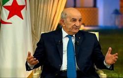 """الرئاسة الجزائرية: الوضع الصحي للرئيس تبون """"مستقر"""""""