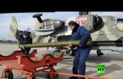 روسيا تستعرض أول إطلاق لصاروخها الجديد المضاد للدروع